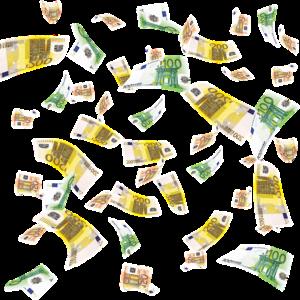 Euro-Geldregen
