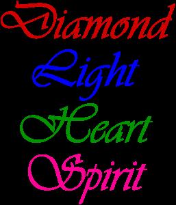 DiamondLightHeart Spirit