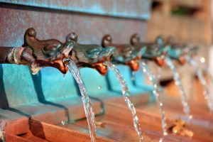 Edler Wasserspender
