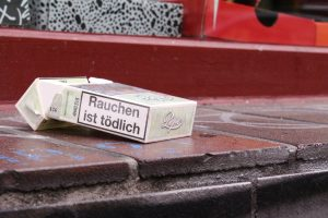Raucher in Gefahr